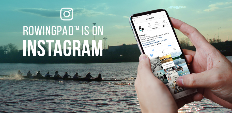 Follow RowingPad on Instagram