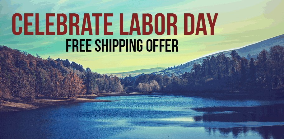 Labor Day Free Shipping!